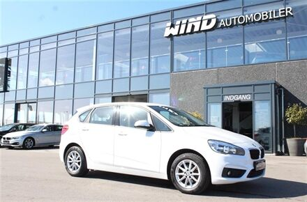 BMW 218d Active Tourer 2,0 D 150HK Stc 6g