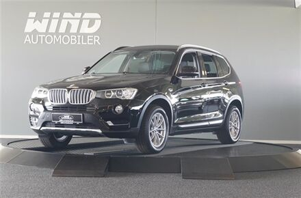 BMW X3 20D 2,0 D XDrive Steptronic 190HK 5d 8g Aut.