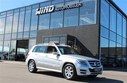 Mercedes-Benz GLK220 d 2,1 CDI BlueEfficiency 170HK 5d 7g Aut.