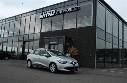 Renault Clio Sport Tourer 1,5 DCI Limited 75HK Stc