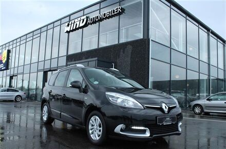 Renault Grand Scénic 7 pers. 1,5 Energy DCI Limited Navi Style 110HK 6g