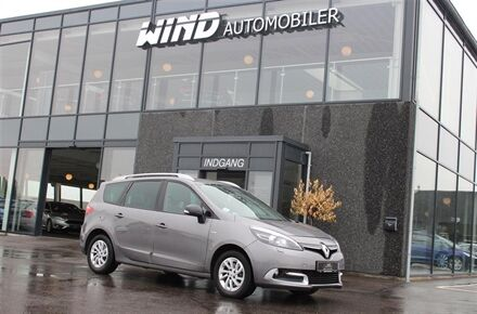 Renault Grand Scénic 1,6 DCI Limited 130HK 6g