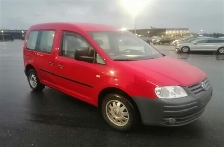 VW Caddy 1,9 TDI Life 104HK Aut.